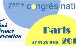 7ème congrès national de Kiné France Prévention.